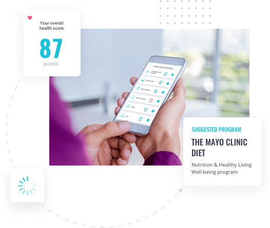 Health Screening Results with Mobile