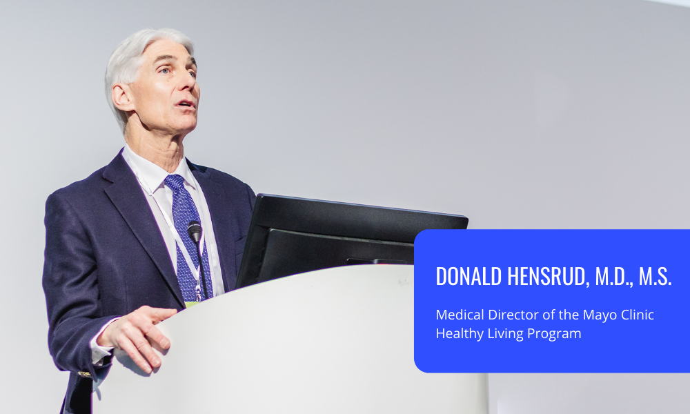 Dr. Donald Hensrud from Mayo Clinic on obesity and overweight